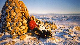 Longyearbyen – im Winter auf Spitzbergen