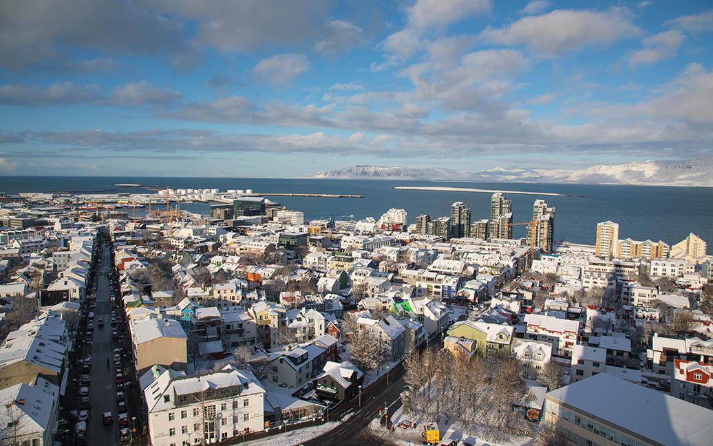 Die Hallgrimmskirche ist ein Wahrzeichen Reykjaviks