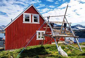 Kulusuk, Grönland