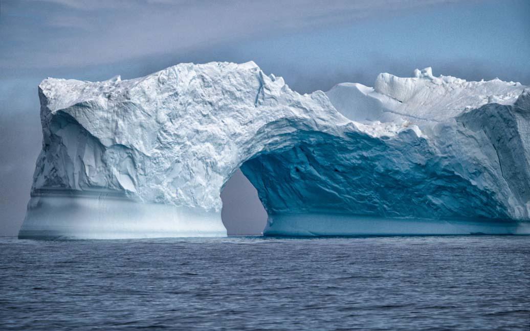 Eisberge – Bootstour durchs Eis