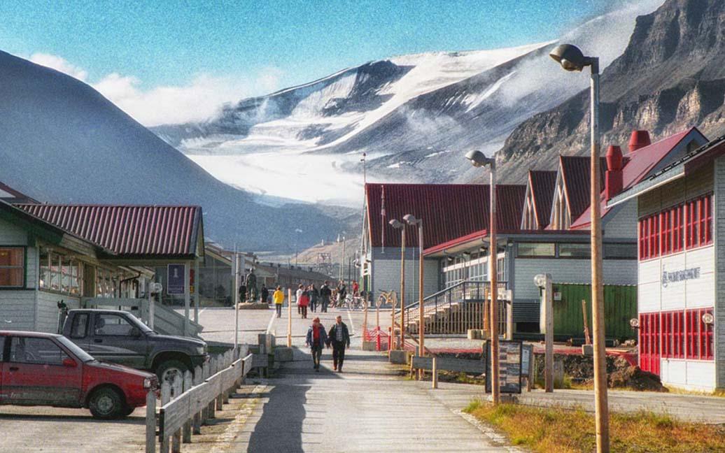 Der erste Tag in Longyearbyen