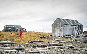 Trapper auf Halvmåneøya - hier lebte Henry Rudi, König der Eisbärjäger