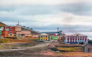 Barentsburg - eine russische Siedlung auf Spitzbergen