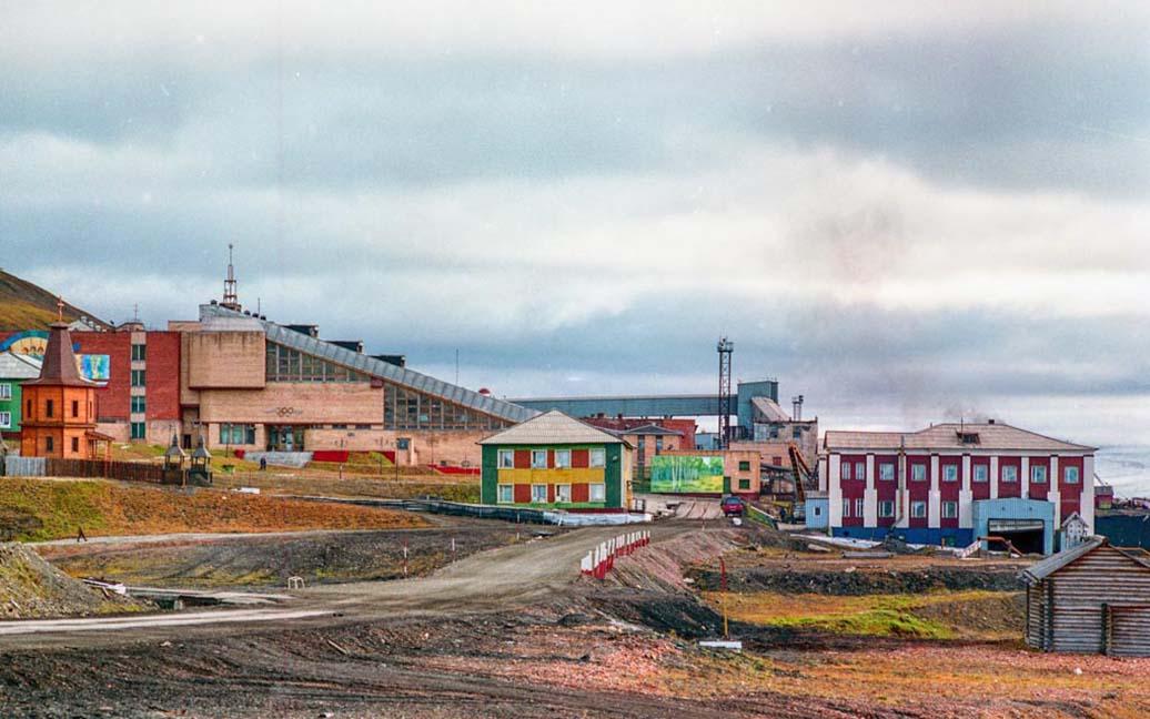 Barentsburg - russische Siedlung auf Spitzbergen
