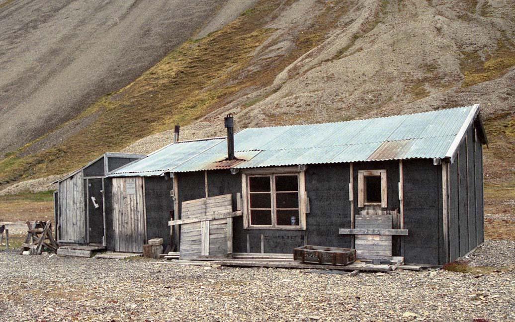 Skansebukta - Eine verlassene Mine - der Heimweg