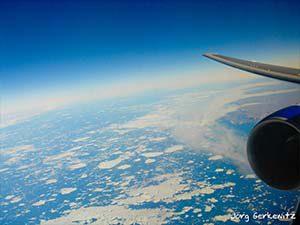 Rückblick auf Grönland... Wir nähern uns Kanada