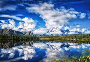 Grandiose Natur am Denali Highway