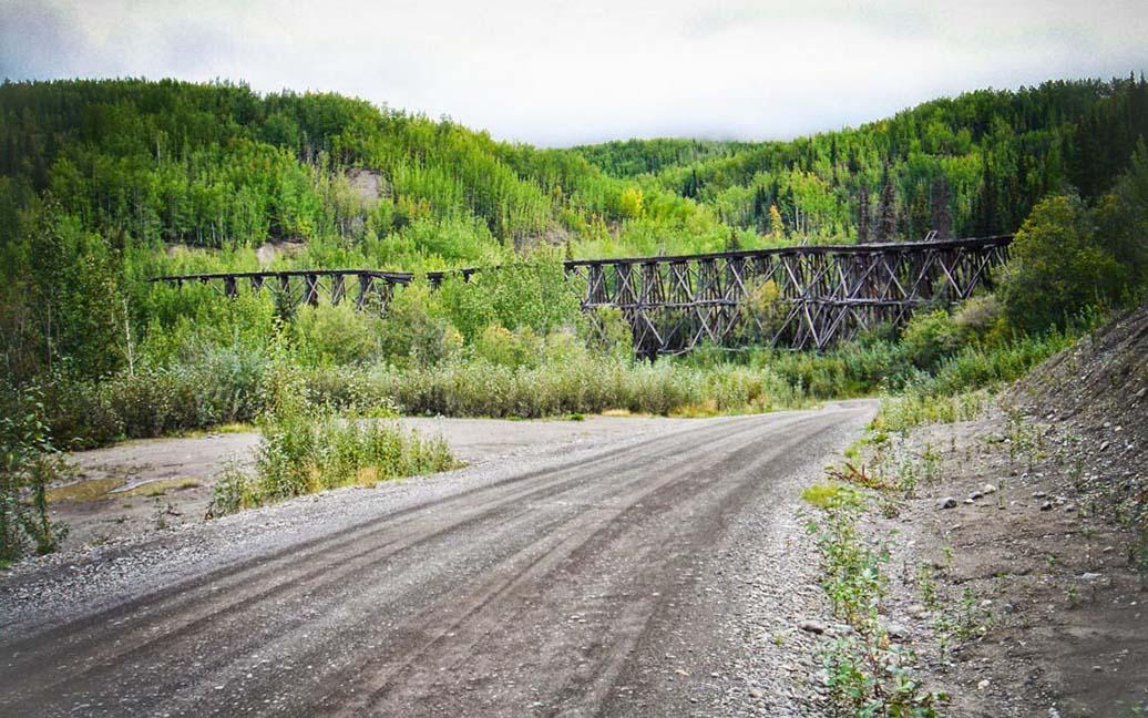 Northwestern-Railway - McCarthy Road – zurück nach Chitina