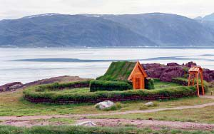 Grönländische Geschichte in Qassiarsuk – Brattahlid