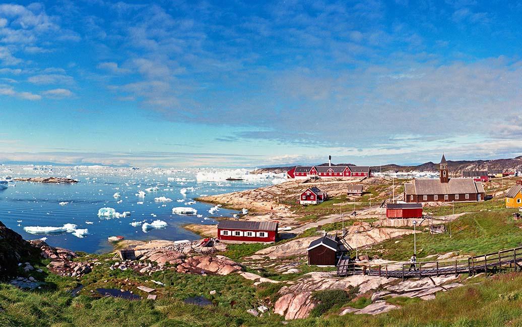Ilulissat - Jakobshavn - Stadt der Eisberge