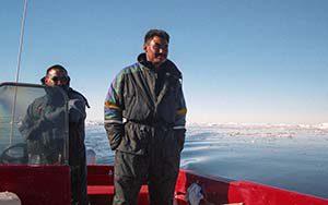 Mit Anton und Jørn auf Robbenjagd