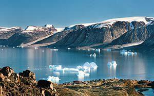 Blick auf Uummannaq
