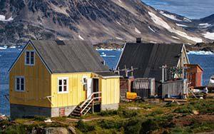 Ostgrönland Kulusuk Kap Dan