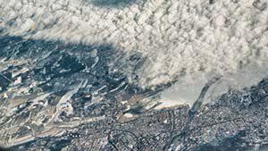 Landeanflug auf Oslo