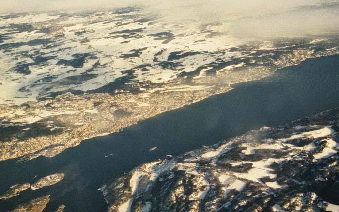 Flug von Frankfurt -> Oslo -> Tromsø