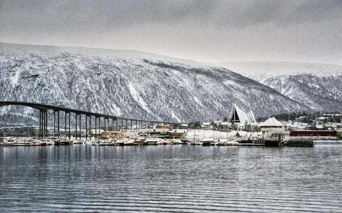 Tromsø in Nordnorwegen