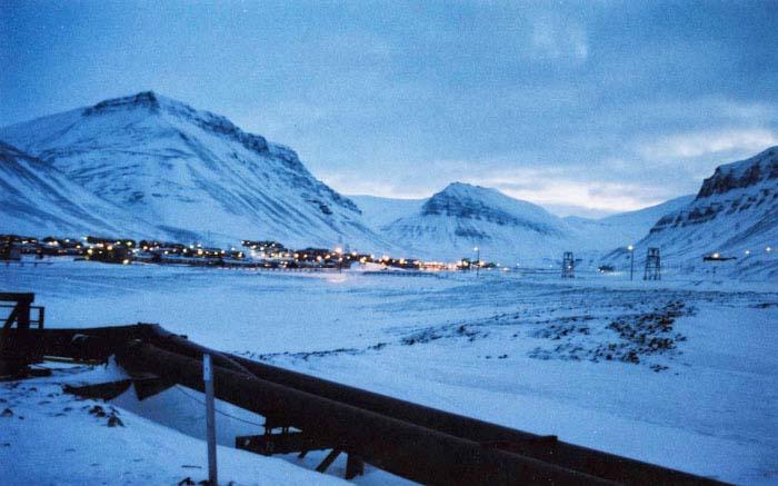Arktische Impressionen auf 78° Nord - Polarlicht