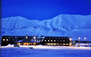 Langyearbyen im Winter